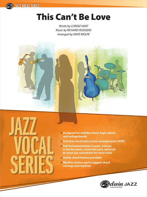 This Can't Be Love: Jazz Vocal Series