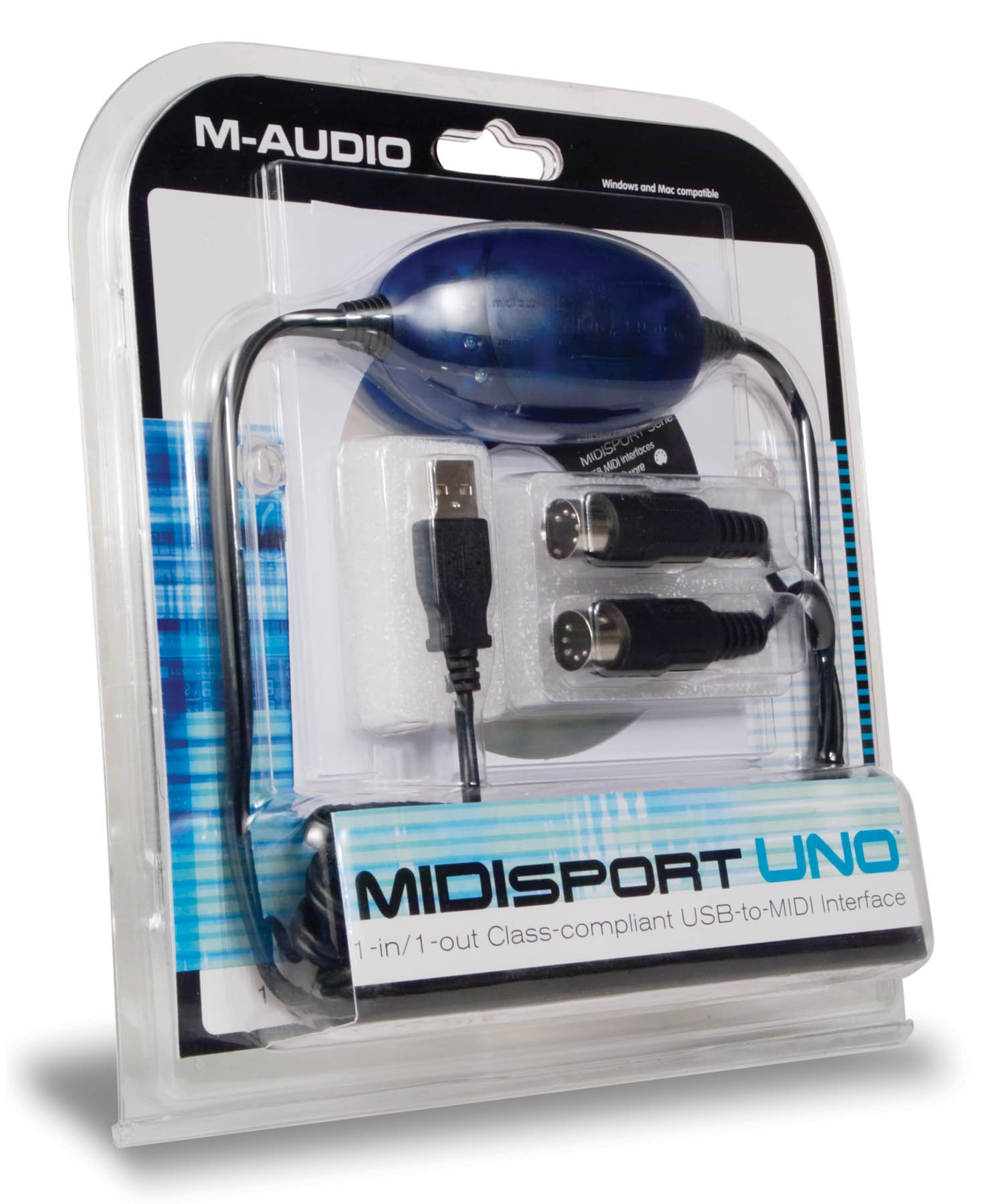 Uno: 1 In / 1 Out MIDI Interface