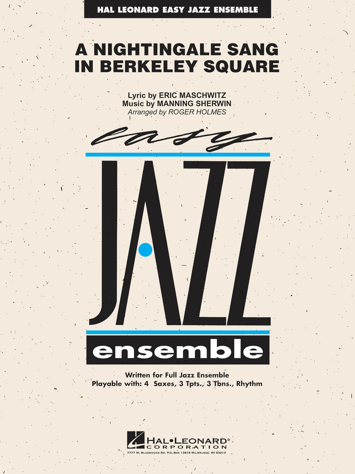 A Nightingale Sang in Berkeley Square: Easy Jazz Ensemble