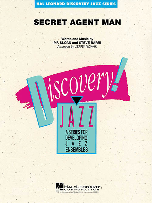 Secret Agent Man: Discovery Jazz