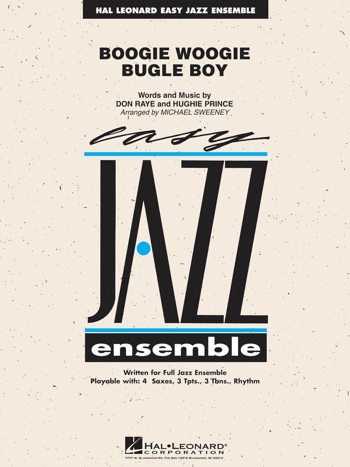 Boogie Woogie Bugle Boy: Easy Jazz Ensemble