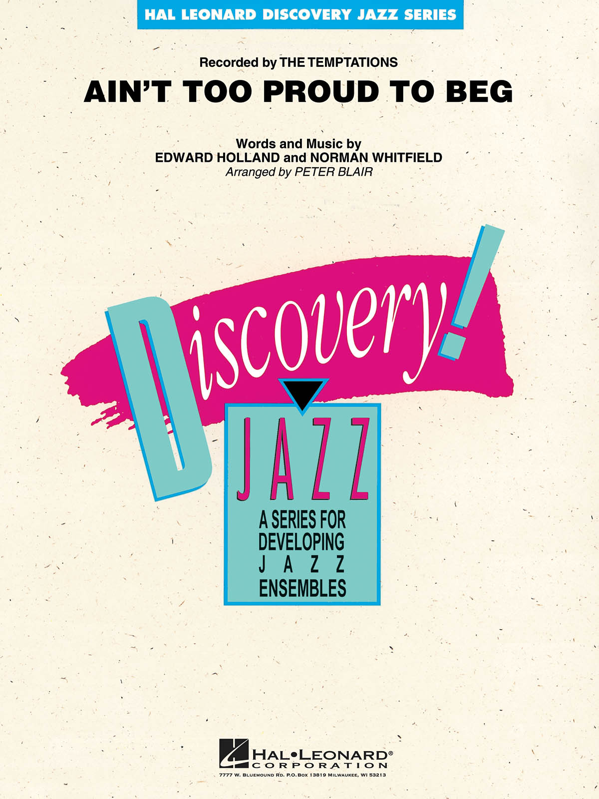 Ain't Too Proud to Beg: Discovery Jazz