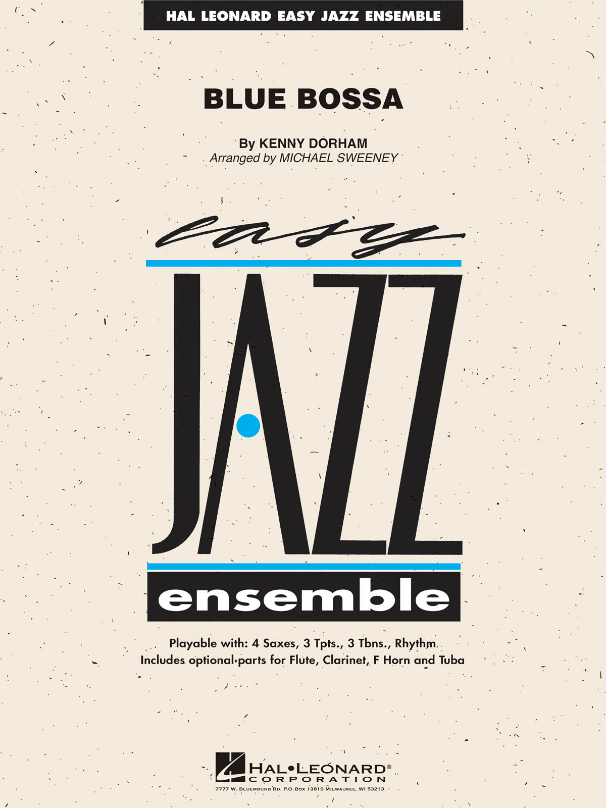 Blue Bossa: Easy Jazz Ensemble