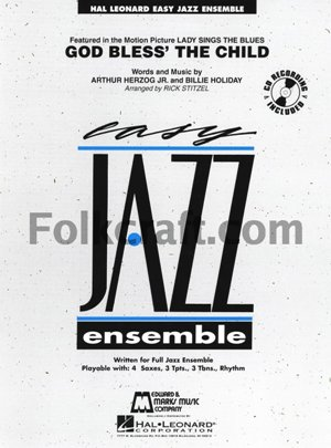 God Bless' the Child: Easy Jazz Ensemble