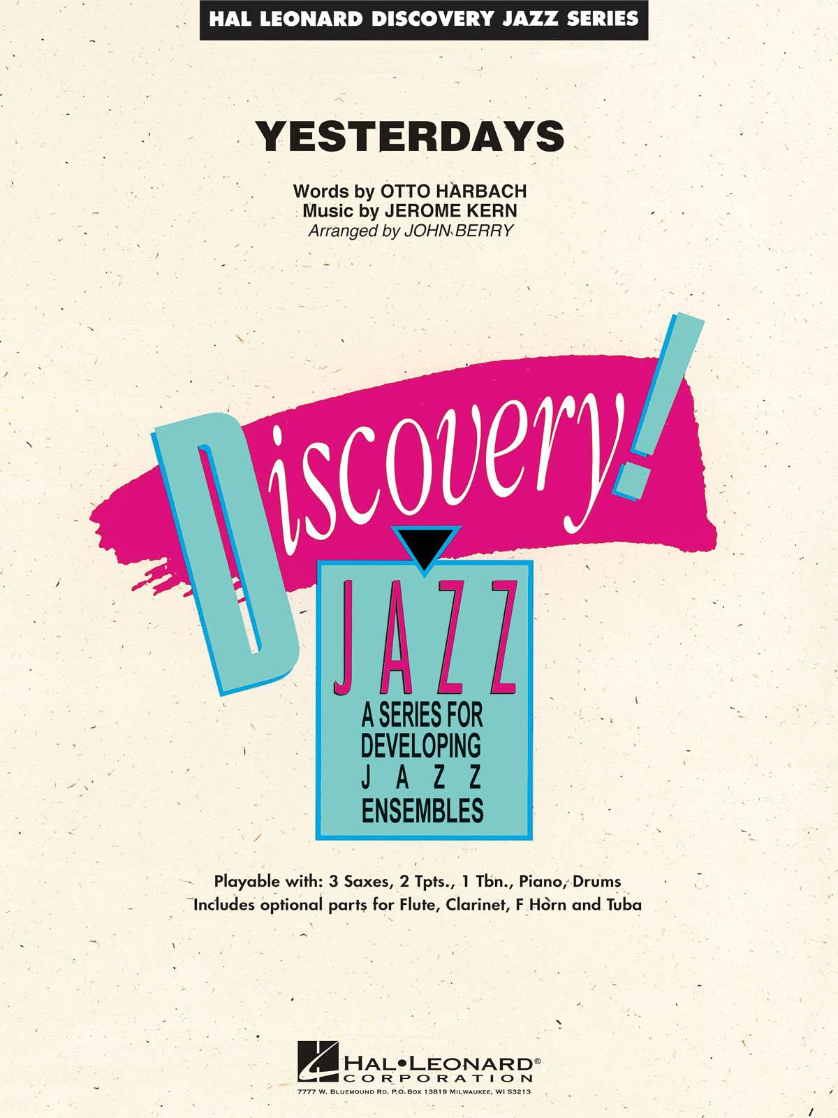 Yesterdays: Discovery Jazz