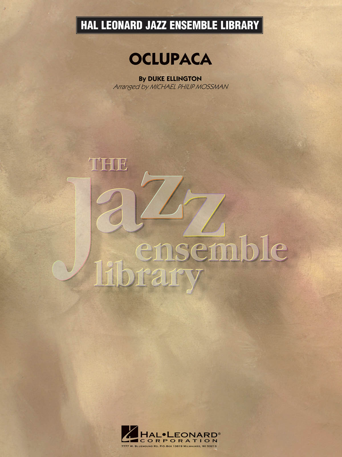 Oclupaca: The Jazz Ensemble Library