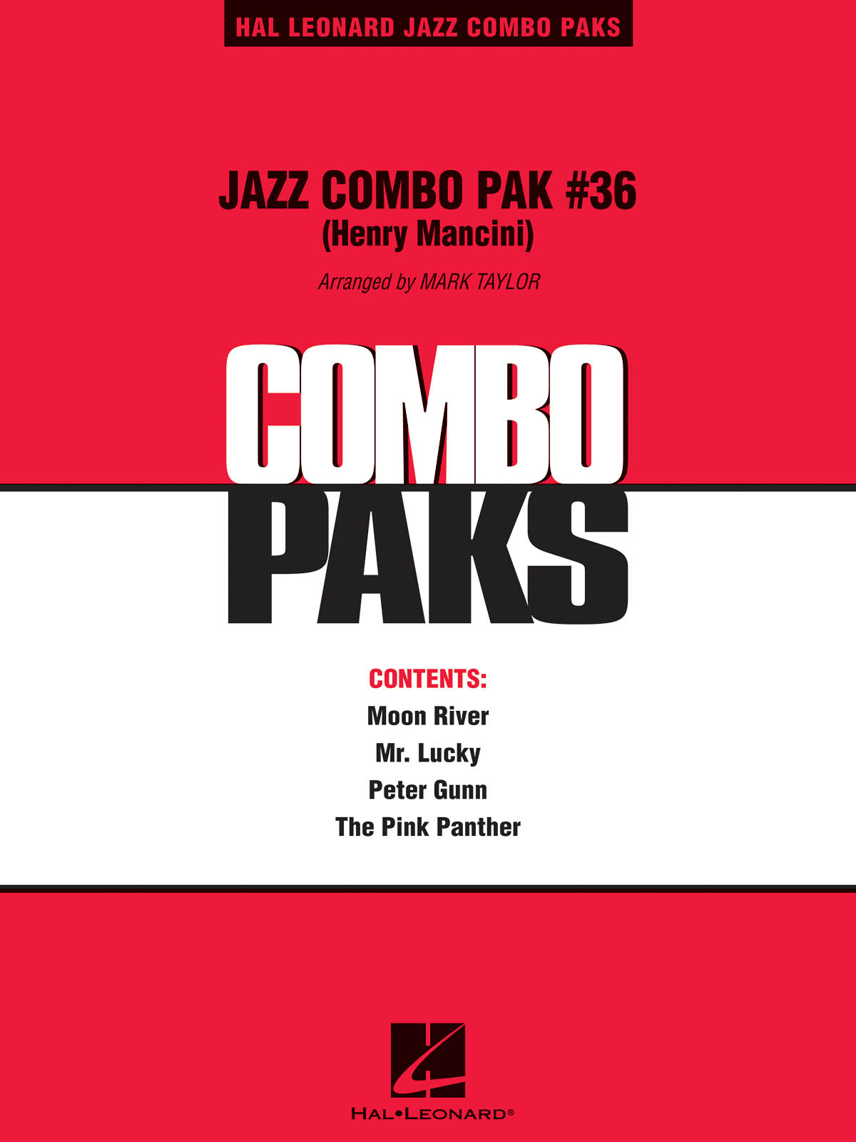Jazz Combo Pak #36 (Henry Mancini)