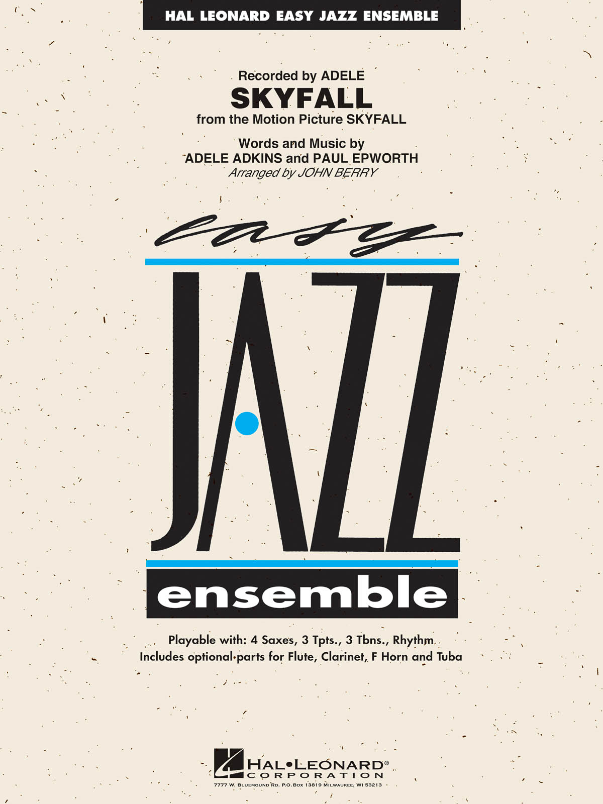 Skyfall: Easy Jazz Ensemble