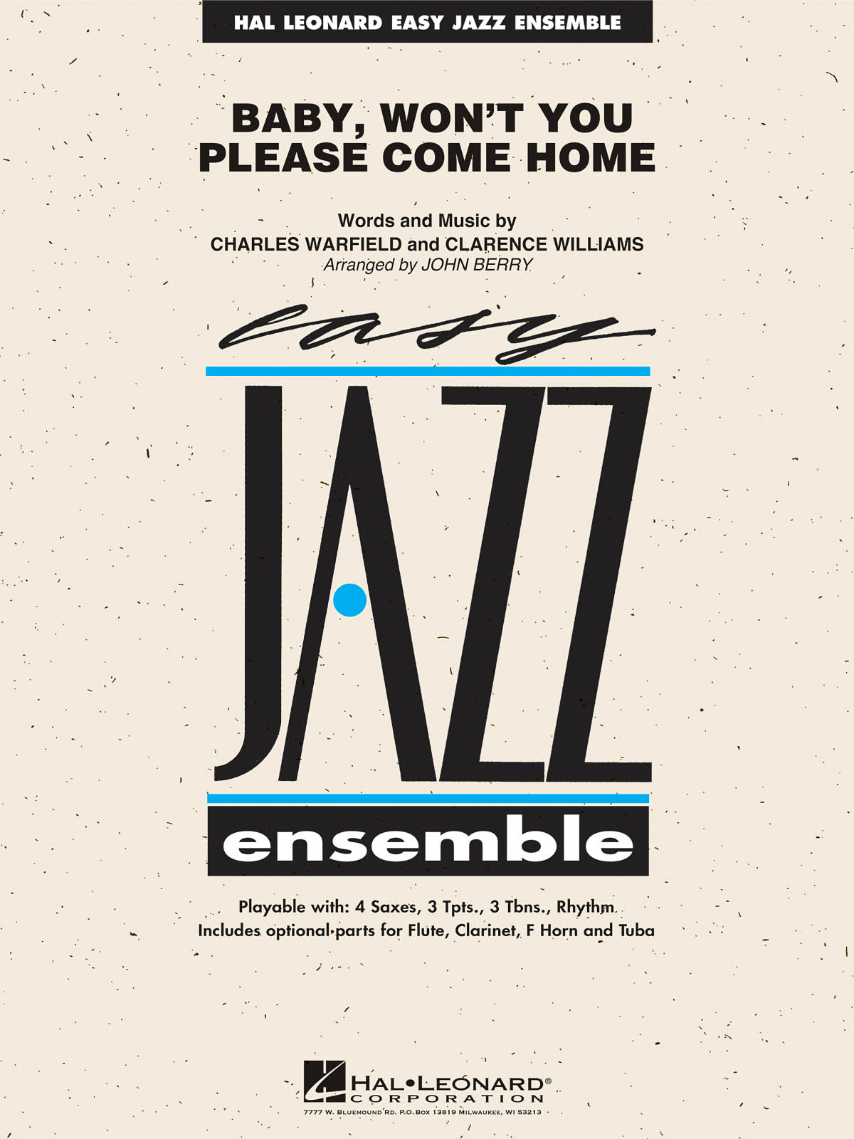 Baby, Won't You Please Come Home: Easy Jazz Ensemble