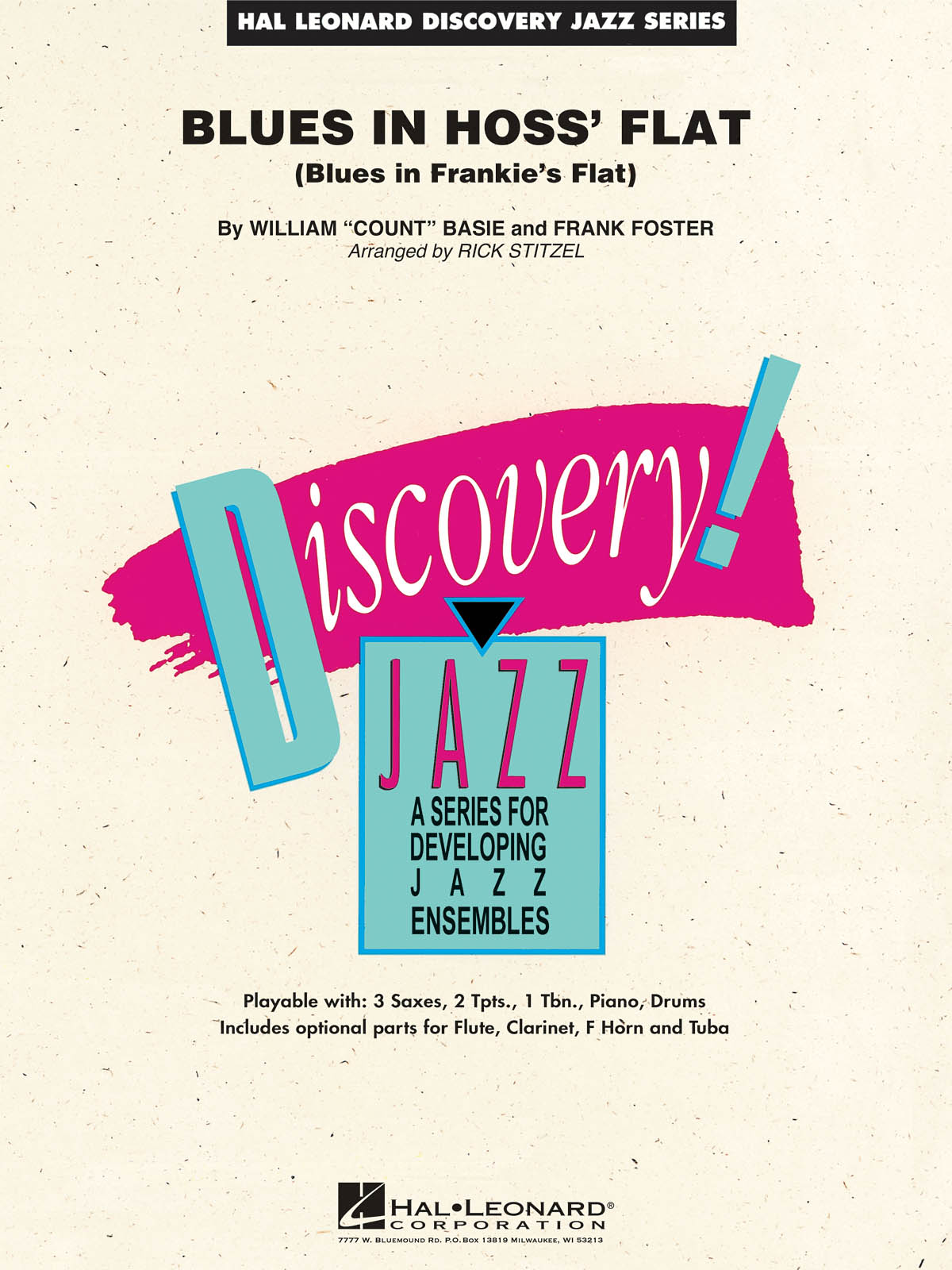Blues In Hoss' Flat (Blues In Frankie's Flat): Discovery Jazz