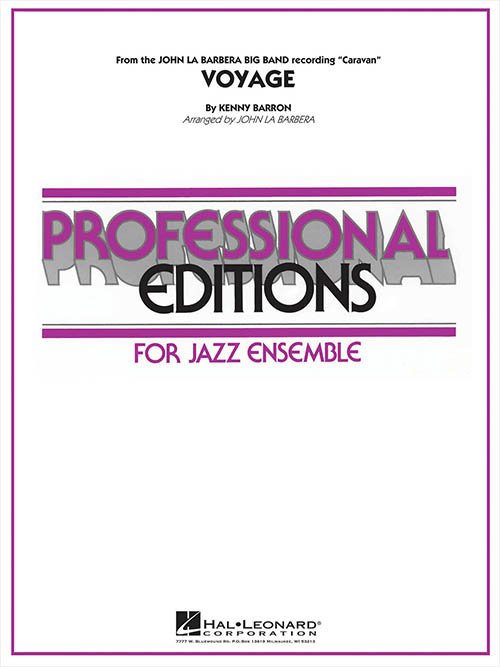 Voyage: Professional Editions for Jazz Ensemble