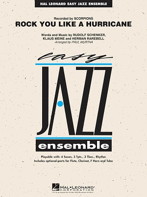 Rock You Like A Hurricane: Easy Jazz Ensemble