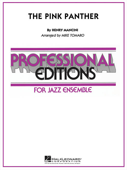 The Pink Panther: Professional Editions for Jazz Ensemble