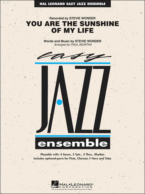 You Are The Sunshine Of My Live: Easy Jazz Ensemble