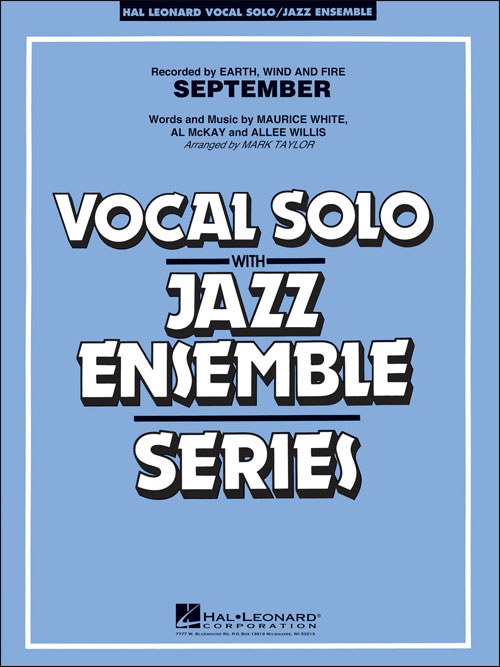 September (Earth, Wind & Fire): Vocal Solo with Jazz Ensemble