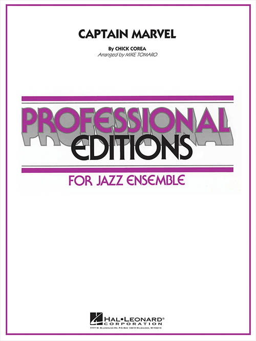 Captain Marvel: Professional Editions for Jazz Ensemble