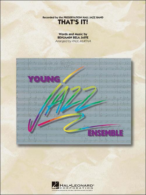 That's It: Young Jazz Ensemble