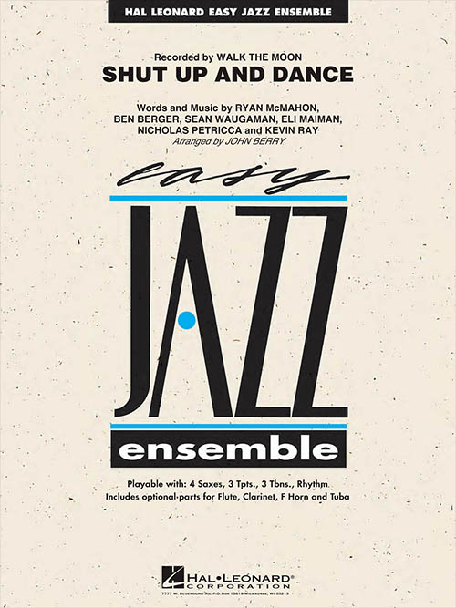 Shut Up And Dance: Easy Jazz Ensemble