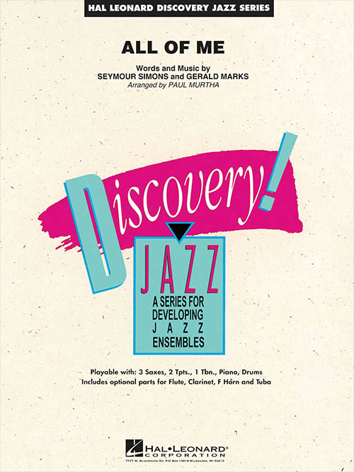 All of Me: Discovery Jazz