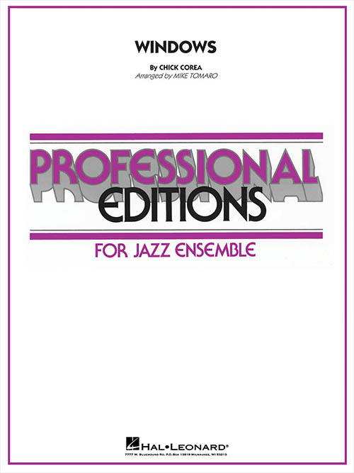 Windows: Professional Editions for Jazz Ensemble