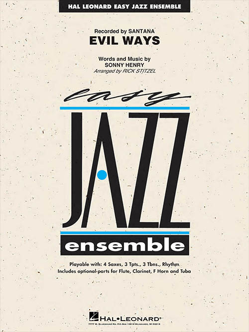 Evil Ways: Easy Jazz Ensemble