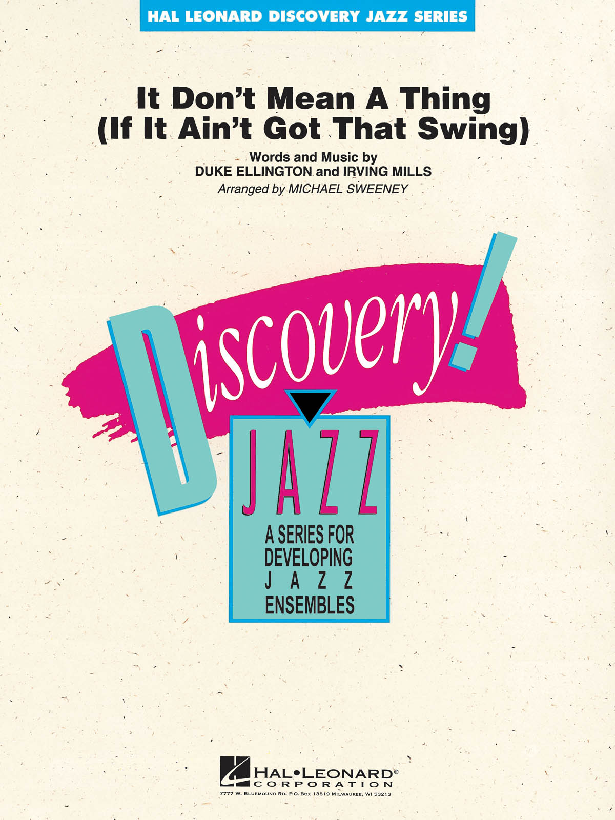 It Don't Mean a Thing (If It Ain't Got That Swing): Discovery Jazz