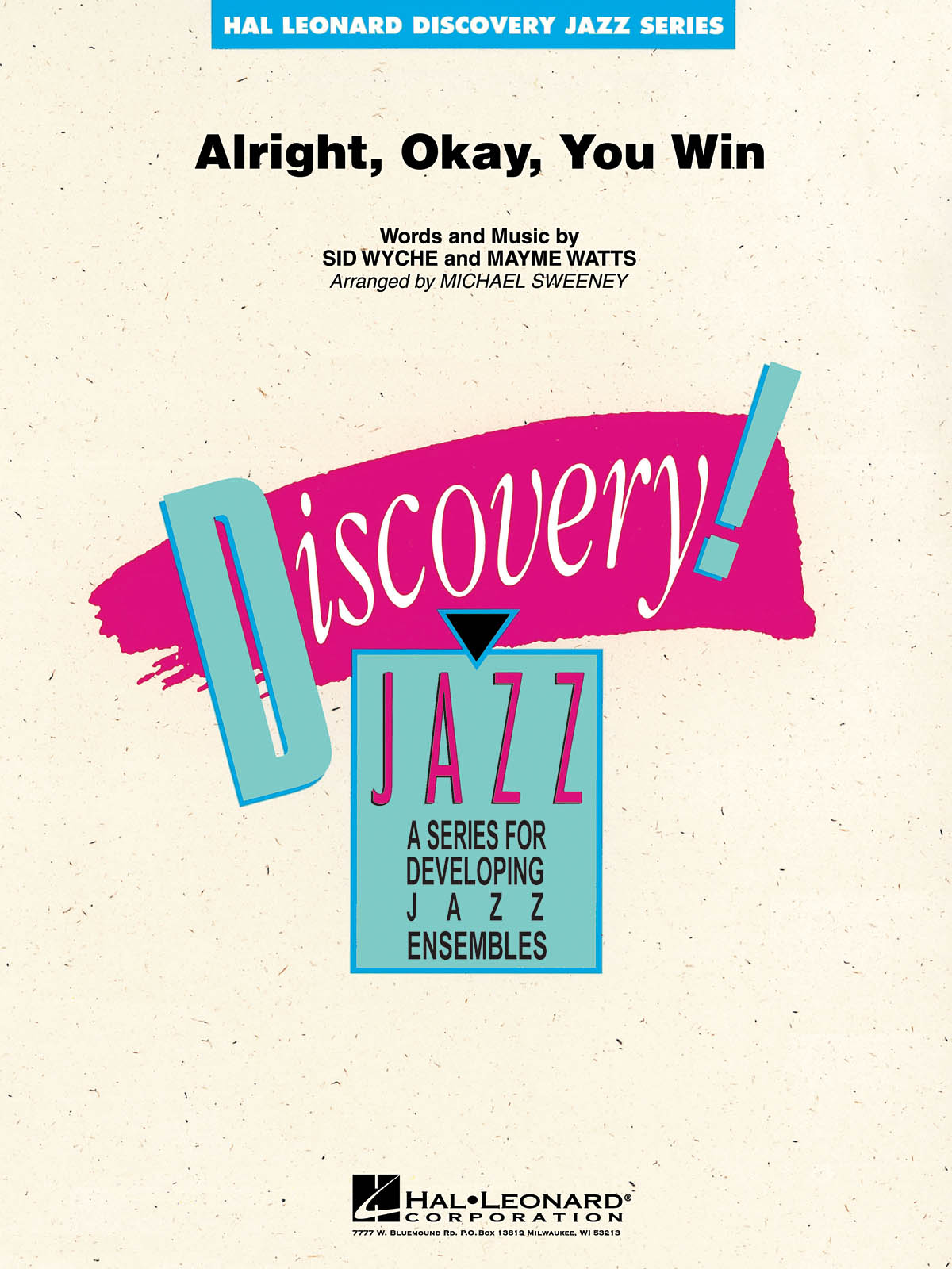 Alright, Okay, You Win: Discovery Jazz