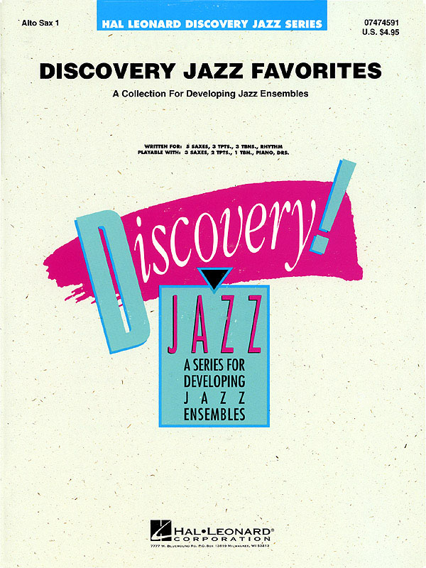 Discovery Jazz Favorites – Alto Sax 1