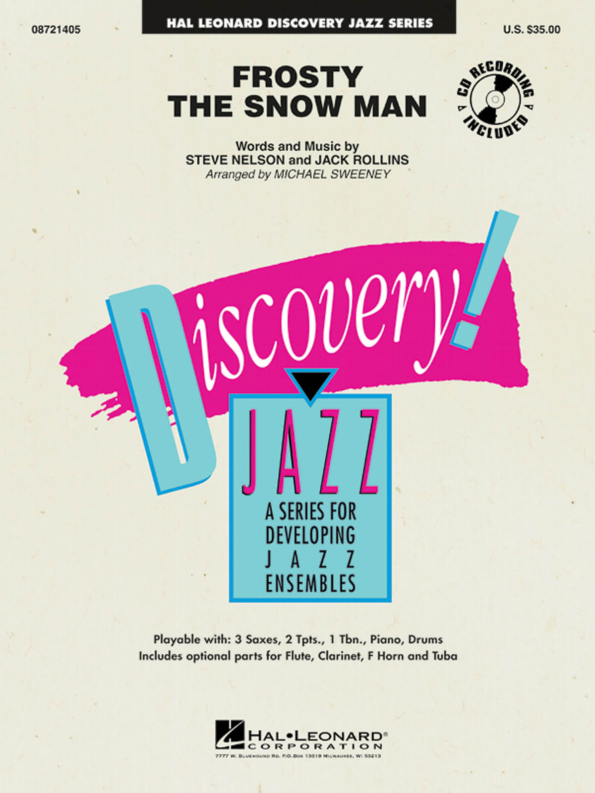 Frosty the Snow Man: Discovery Jazz