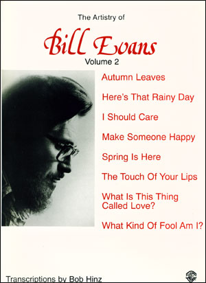 The Artistry Of Bill Evans Volume 2