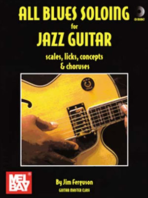 All Blues Soloing for Jazz Guitar Book/CD Set