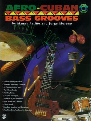 Afro-Cuban Bass Grooves - Bk/CD