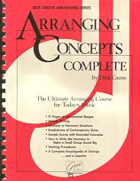 Arranging Concepts Complete - Book/CD
