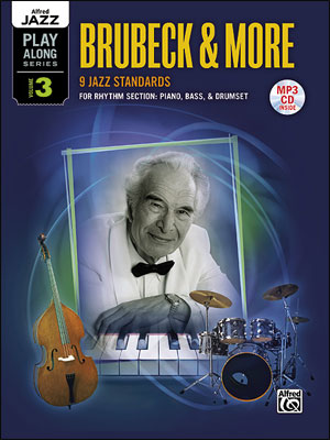 Alfred Jazz Play-Along Series Vol. 3: Brubeck and more for Rhythm Section