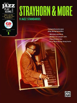 Alfred Jazz Play-Along Series - Strayhorn & More - Vol. 1 for C, B-Flat, E-Flat & Bass Clef