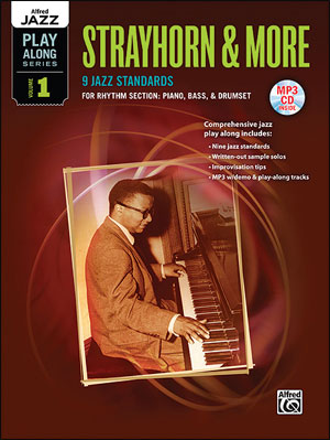 Alfred Jazz Play-Along Series, Vol. 1 - Strayhorn & More for RHYTHM SECTION