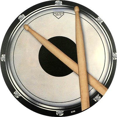 Mouse Pad Drum Practice Pad