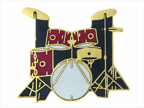5 Piece Drum Set Pin