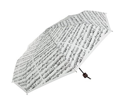 Sheet Music Umbrella - White