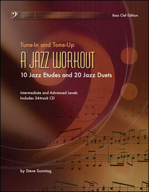 A Jazz Workout - 10 Etudes & 20 Duets - Bass Clef