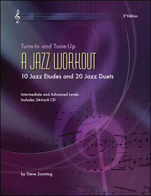 A Jazz Workout - 10 Etudes & 20 Duets - Eb Book
