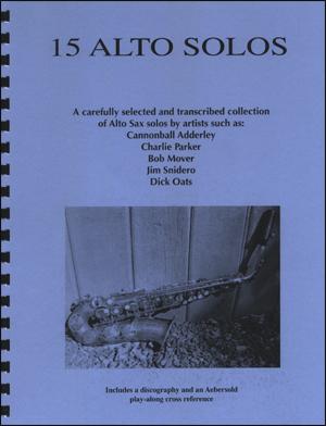 15 Jazz Alto Saxophone Solos