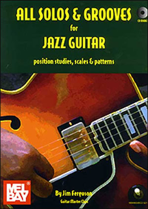 All Solos and Grooves for Jazz Guitar Book/CD Set