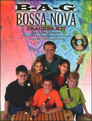 B-A-G Bossa Nova - Bk/CD for Recorder & C Instruments