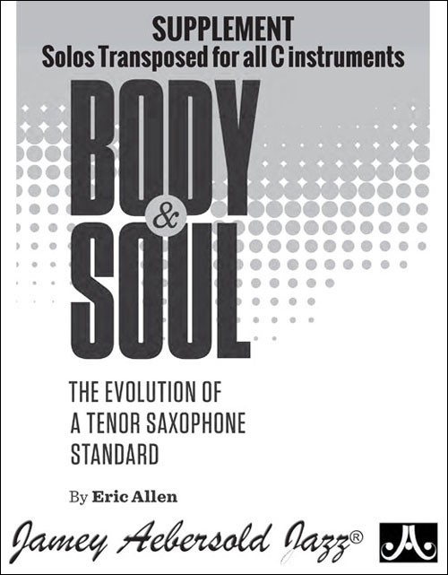Body and Soul Supplement - For C Concert Instruments