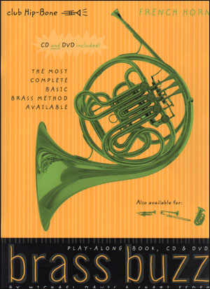 Brass Buzz - CD/DVD For The Beginning Brass Player for French Horn