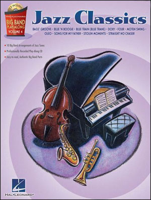 Big Band Jazz Classics - Play- Along for Bass