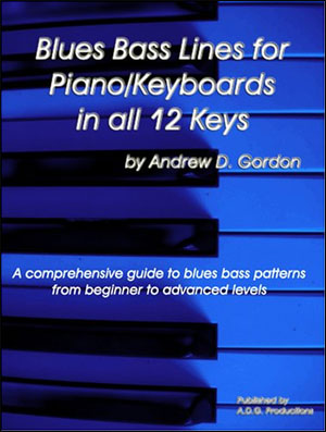 Blues Bass Lines for Piano/Keyboards in all 12 Keys