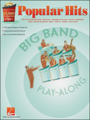 Big Band Popular Hits - Play-Along for Drums