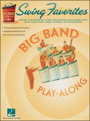 Big Band Swing Favorites - Play-Along for Alto Sax